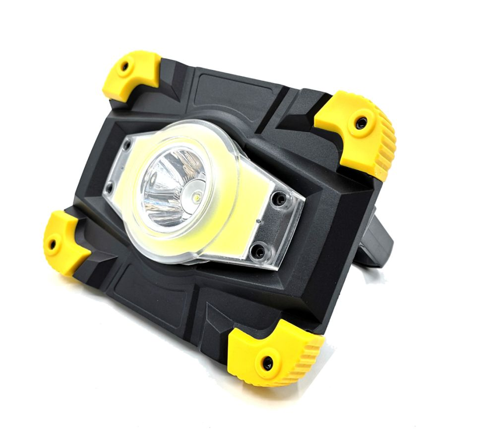 Magnet Multifunction Lumen COB 25 LED Slim Work Light Flashlight Rechargeable CW
