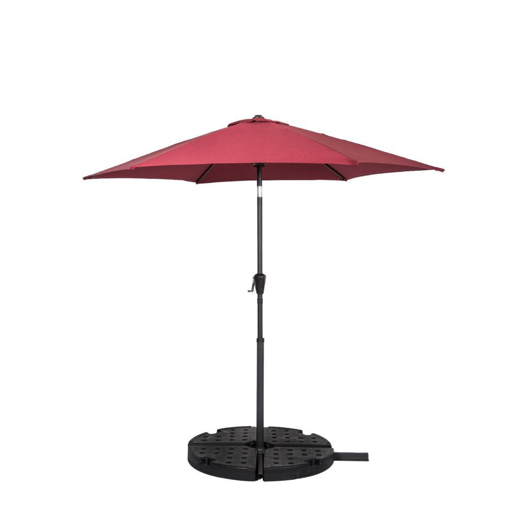 6404d463de Shop for Kinbor 10FT Aluminum Table Umbrella With Crank and Auto ...