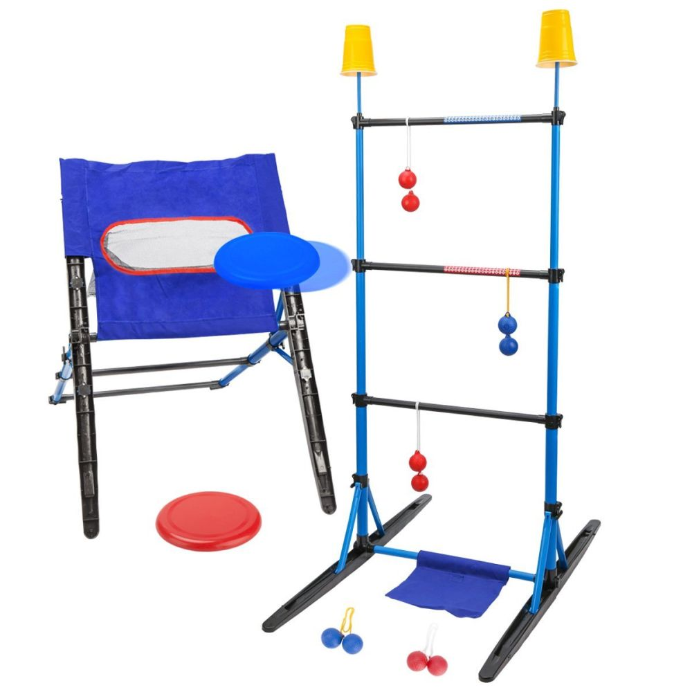 Shop for 3-IN-1 Outdoor Toss Game Set-Ladder Ball Game, Disc Toss ...