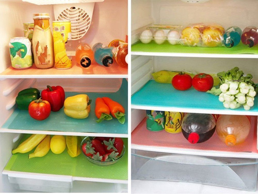 chevron soft plastic cut placemats gray simple to steps added a them some washable my with bought blog fruit homegoods liners shelf shelves fit fridge and also print at your refrigerator organizing i