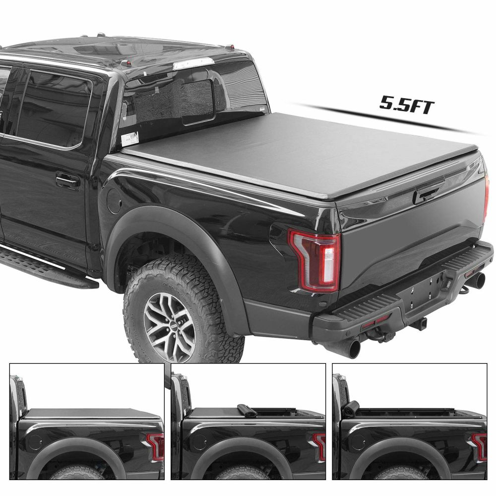 Shop For Soft Roll Up Tonneau Covertruck Bed Fits Ford F150 2016 2018 5 5 Ft Bed At Wholesale Price On Crov Com