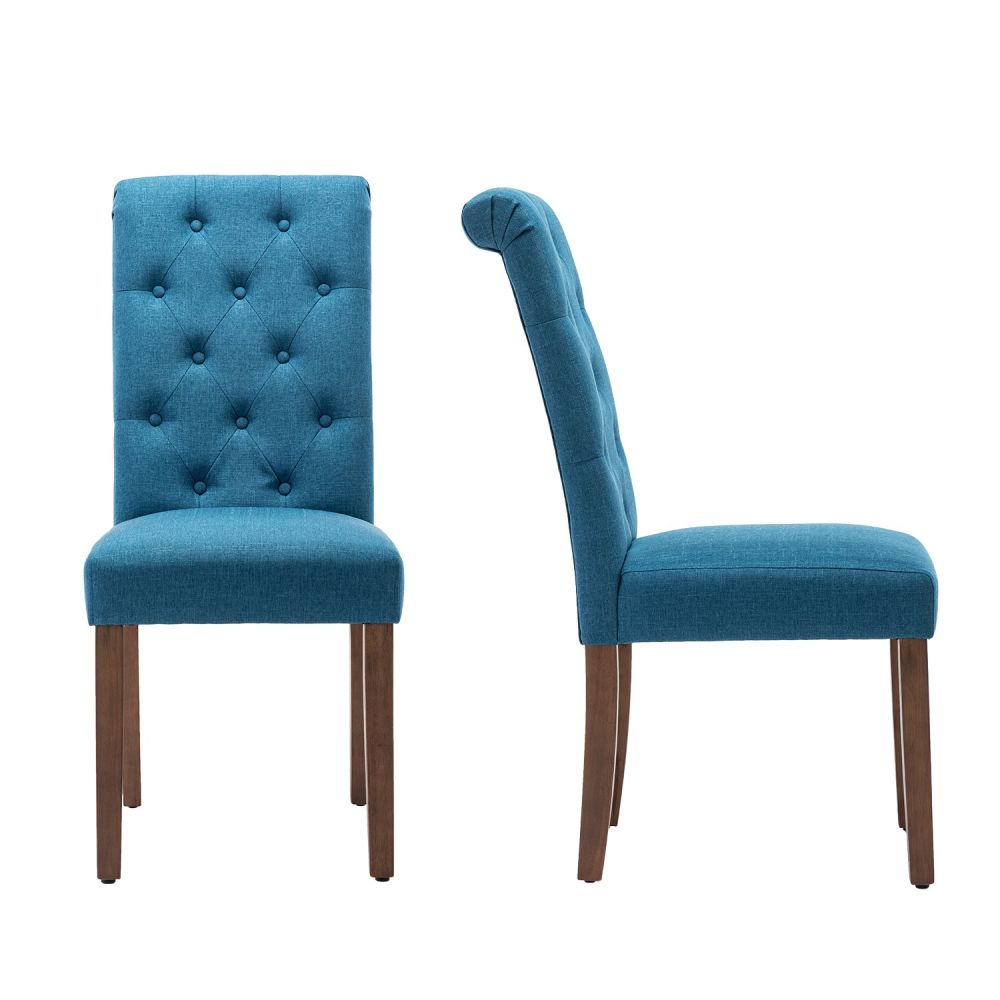 Furniture Classic Fabric Dining Chair