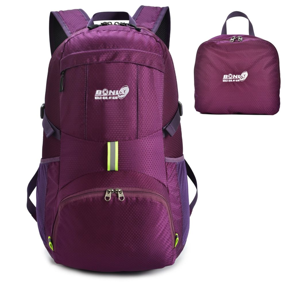 Amazon.com  ZOMAKE Ultra Lightweight Packable Backpack Water ... Buy ZOMAKE Ultra  Lightweight Packable Backpack Water Resistant Hiking Daypack ... 5eb9cca2e911d