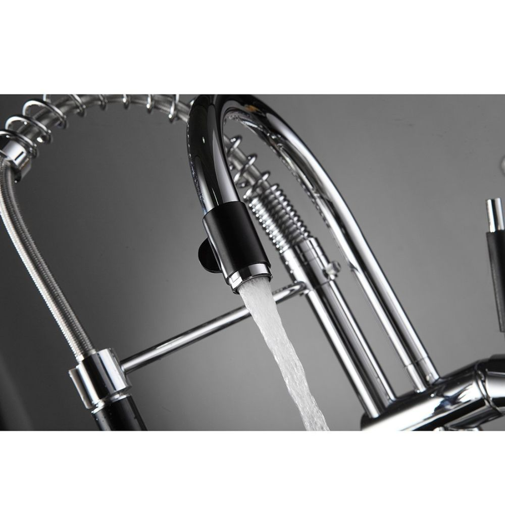 Shop for FLG Commercial Spring Pre-Rinse Single Lever One Hole Pull ...