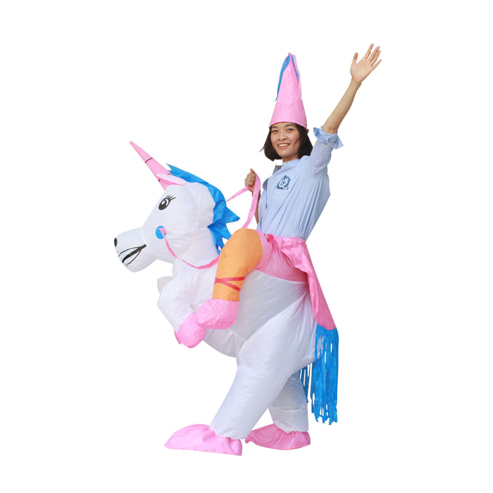 Shop for SeasonBlow Fancy Adult Inflatable Costume Halloween Unicorn Fantasy Riding Clothing at Wholesale Price on Crov.com  sc 1 st  Crov.com & Shop for SeasonBlow Fancy Adult Inflatable Costume Halloween Unicorn ...