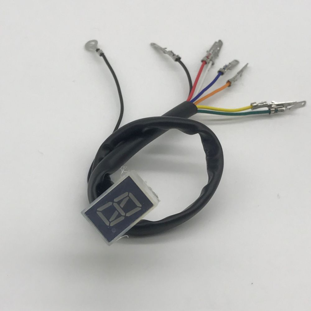 Shop for Red LED Universal Digital Gear Indicator Motorcycle