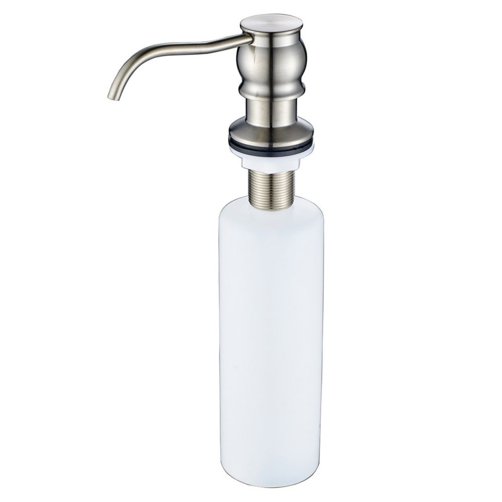 Shop for FLG Brushed Nickel Finish Kitchen Sink Soap Dispenser ...