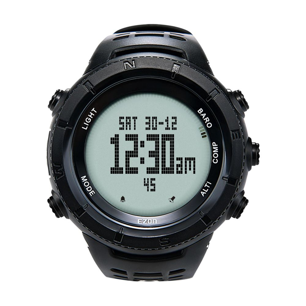Shop For Ezon Multifunctional Hiking Watch Mens Sport Digital Barometer Signal Conditioner Hours Altimeter Compass Thermometer Climbing Wristwatch At Wholesale Price On