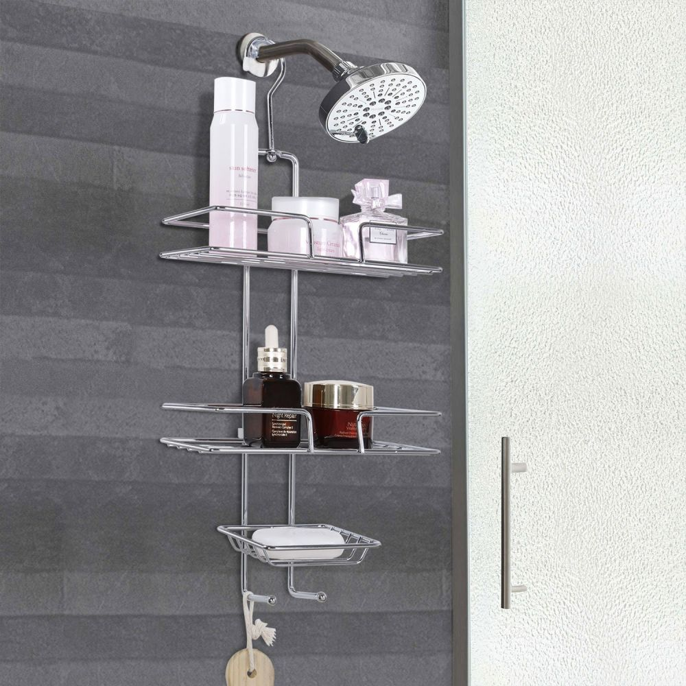 Shop for Lifewit Shower Caddy Bathroom Shower Hose Rack, Hand Held ...