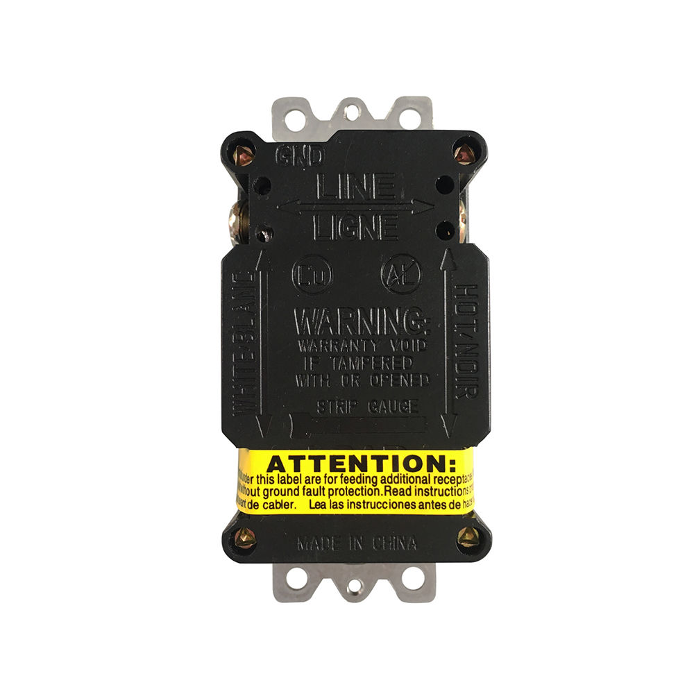 Shop For Gfci Outlet 20 Amp 125v Tamper Resistant Weather Series High Withstand Voltage Tester Has Exclusive Smart Gfi Circuit Have Wiring Experience 4 Are Prepared To Take A Few Minutes Test Your Work Making Sure That You Wired The Receptacle Correcetly