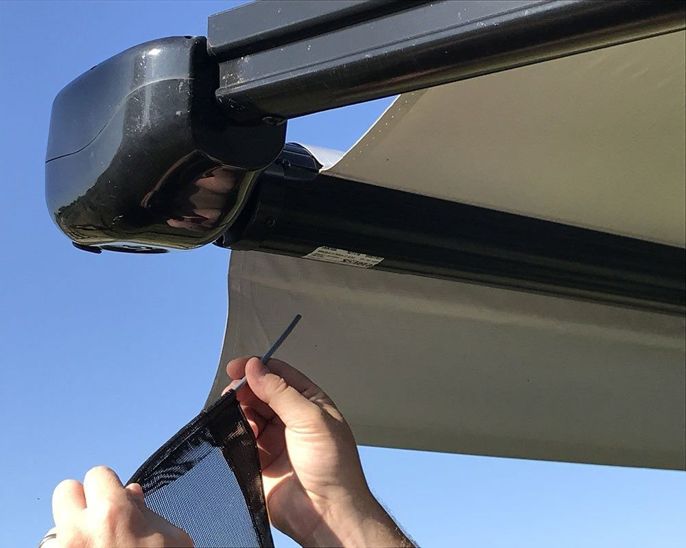 screen or awnings your with an shade rv tucson protect awning investment b services