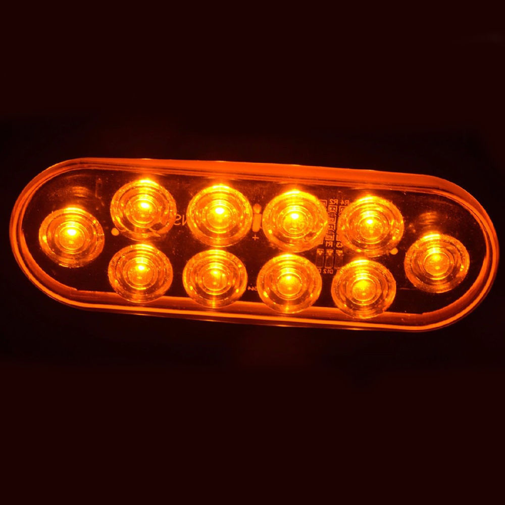 Shop For New Sun 2x Trailer Optronics Tail Light Led Clearance And Kit W 2539 Wiring Harness Lights Side Marker Submersible 10 Diodes Amber Lens At Wholesale Price On