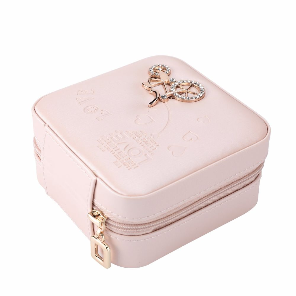 Shop for Jewelry Box Guluman Small Portable Travel Jewelry Storage