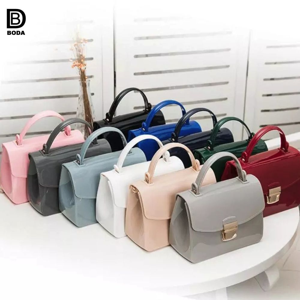 f277fa4cc6 Shop for Wholesale Jelly Candy Color Ladies Handbag With Single Shoulder  Strap at Wholesale Price on Crov.com