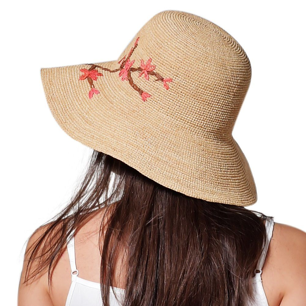 56540df96d2 Shop for FURTALK imported raffia summer hat for women straw hat for beach  sun hat travel bucket hat panama SH021 at Wholesale Price on Crov.com