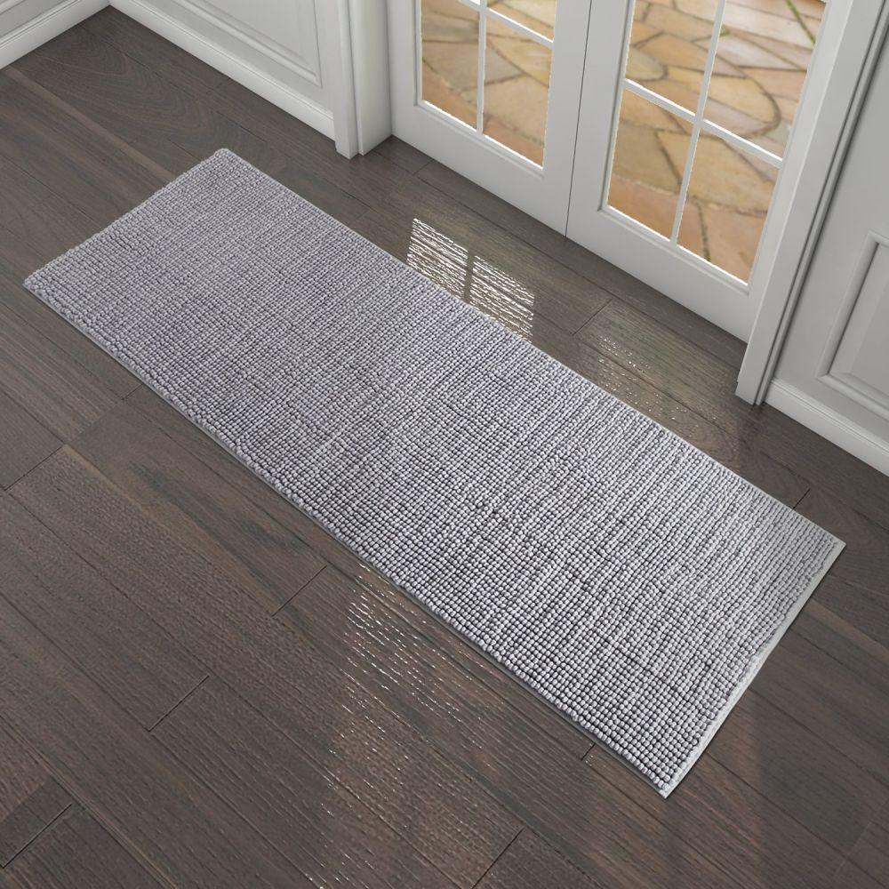 rug mat mats l floor shaped grey accessories and gel dark gray kitchen designs