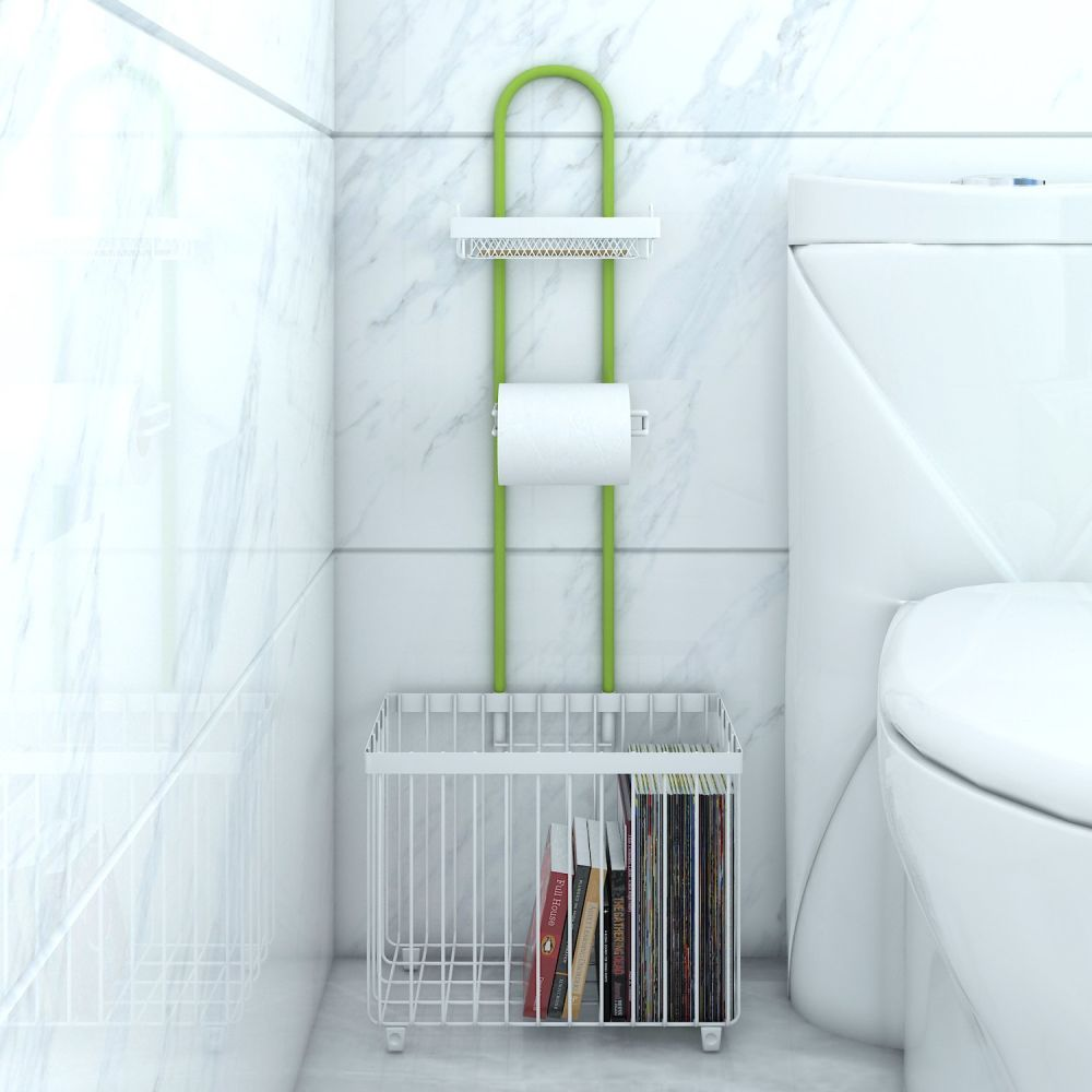 Shop for Lifewit Bathroom Toilet Roll Paper Holder Caddy Free ...