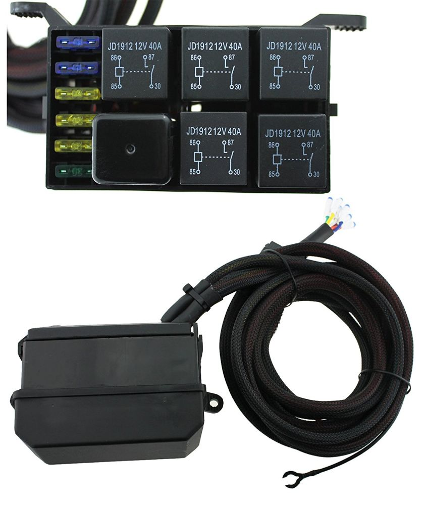 marine fuse box assembly