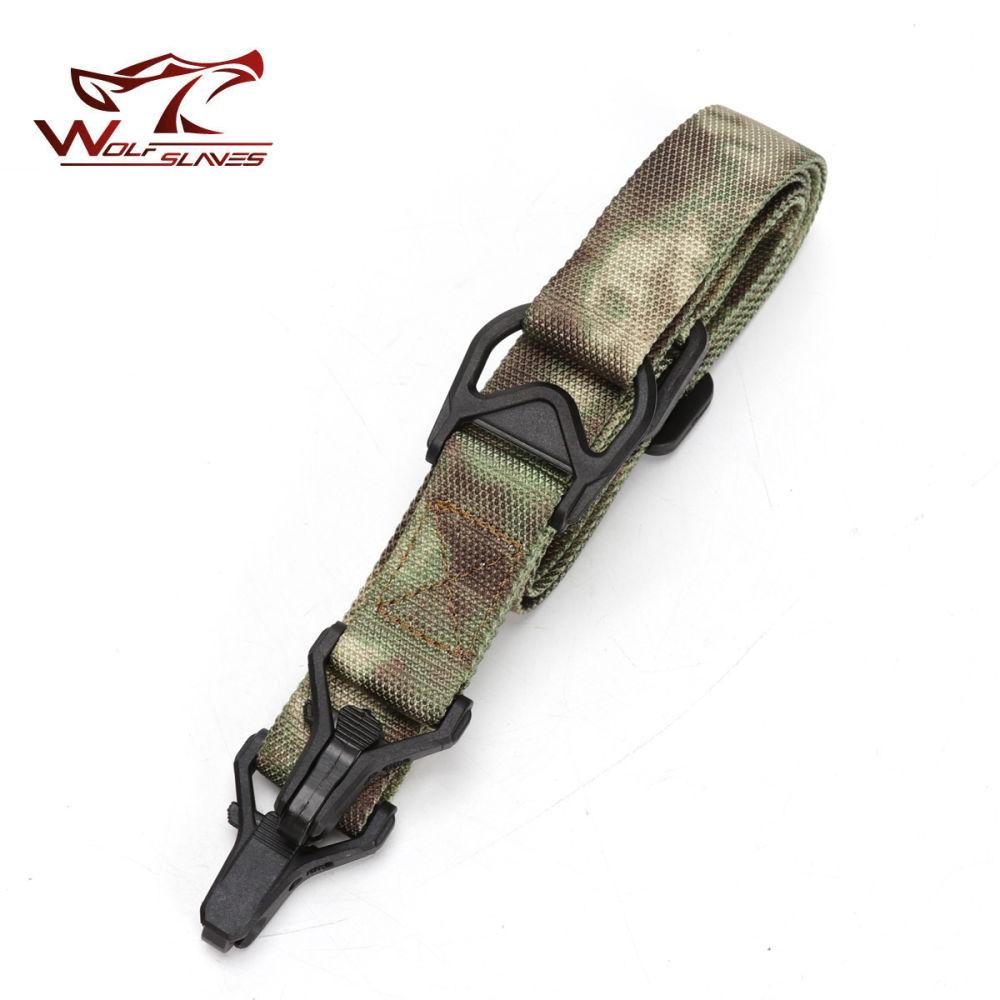 2 Point Multi-Mission Rifle Sling Adjustable Hunting Protective Nylon Gun Strap