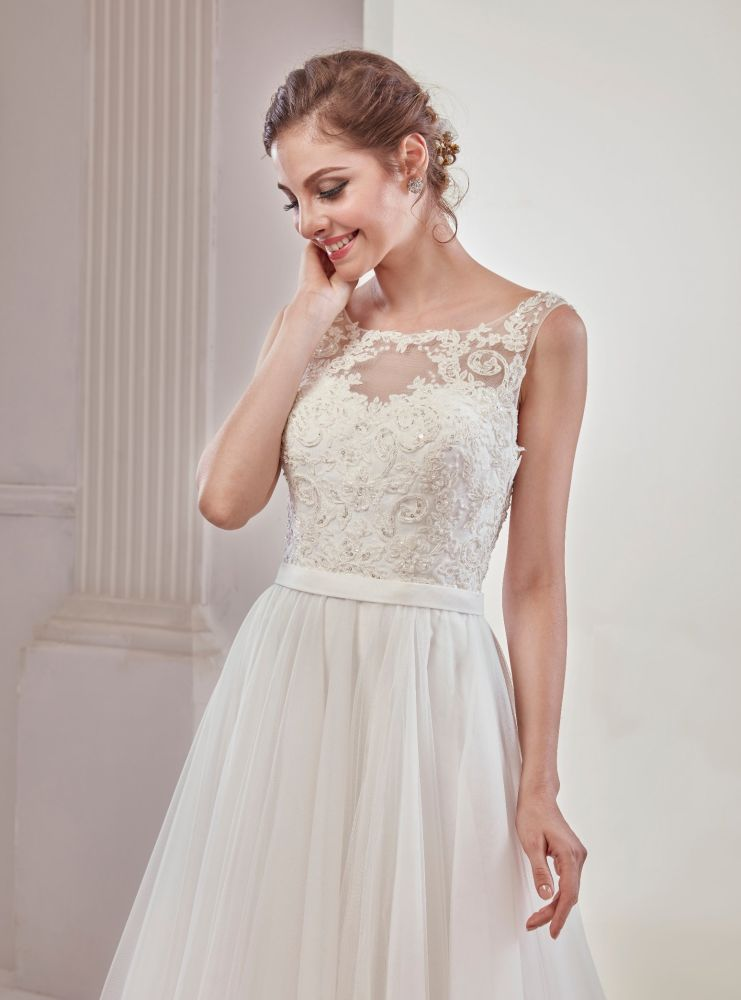 Shop For Beach Style Chiffon Fabric Lace New Arrival 2018 Wedding