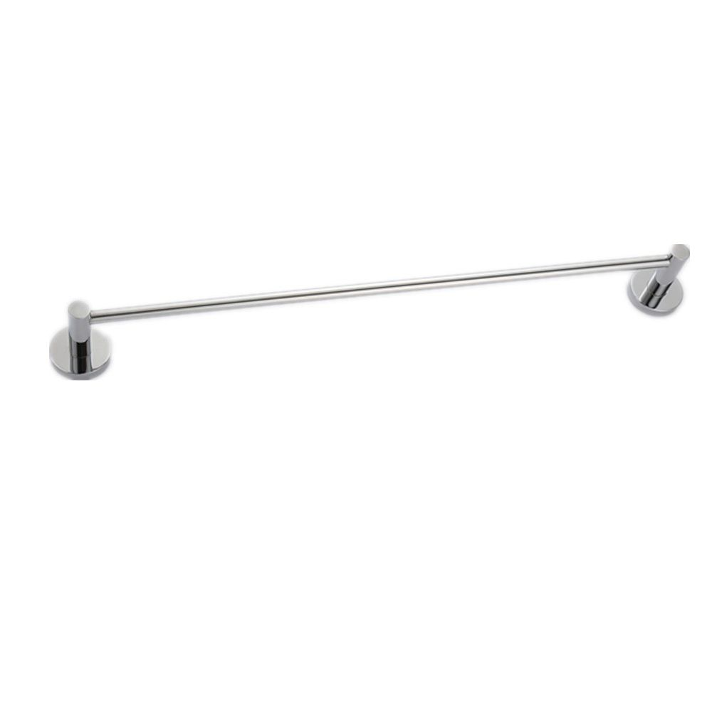 Shop for Brass Wall Mounted Chrome Plated Bathroom Single Towel Bar ...