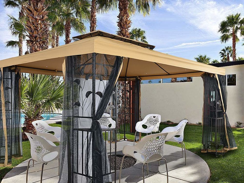 Shop for suna Outdoor Patio 10X13 FT Outdoor Gazebo Steel Frame Two