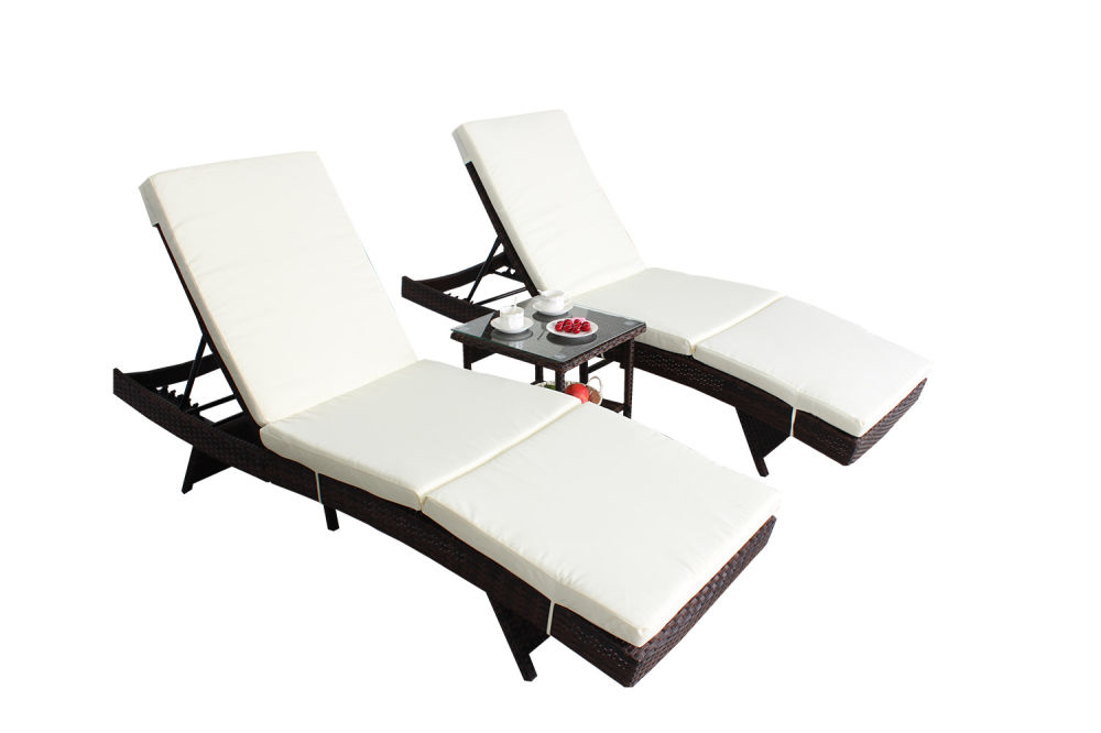 2 Lounge Chair Cushion 1 Instruction Book Coffee Table