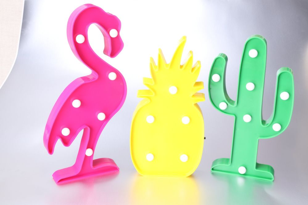 Shop for INS Cactus Light Party Decorations Led Light Supplies-Wall ...