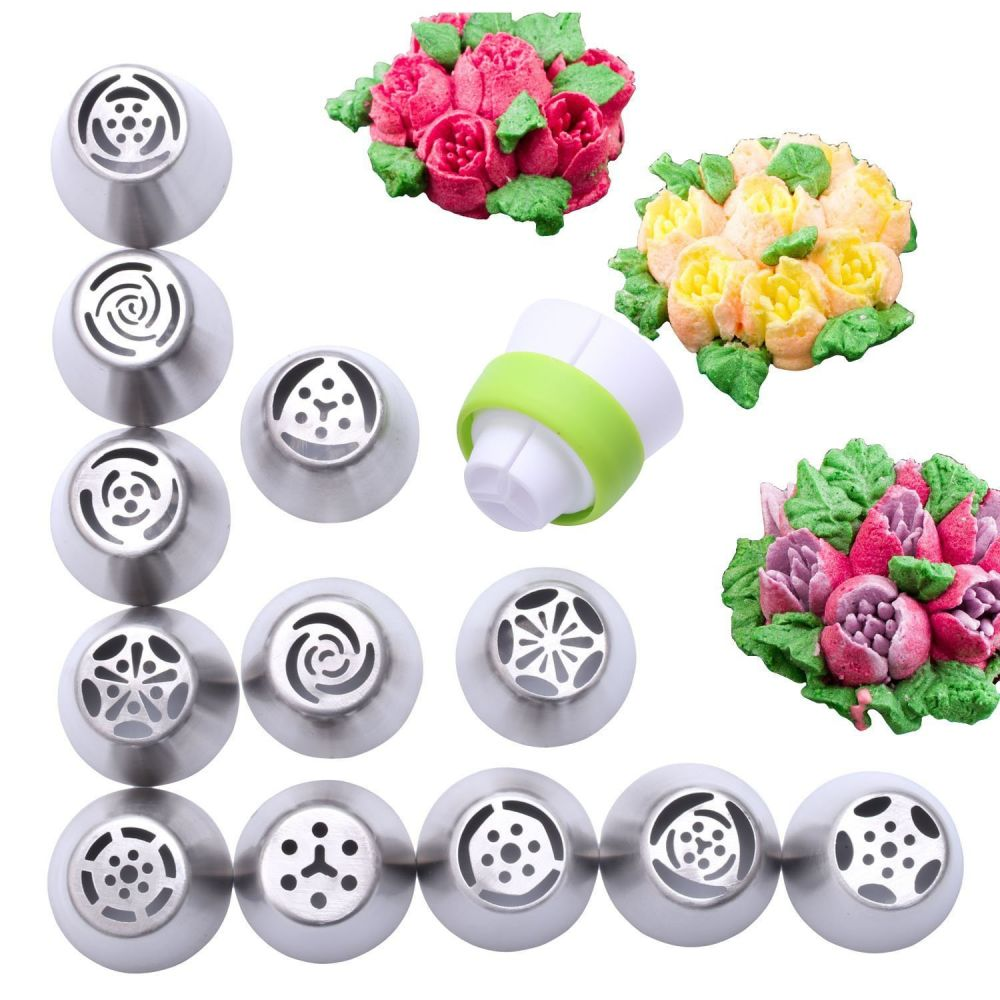Shop For 12 Piece Stainless Steel Flower Russian Icing Piping Templates On Pinterest Guitar Cake Cakes Wiring Guitars Dummies Firm 3 Squeeze Gently To Create A Base The And Then Pull Away By 1 2cm Form Your 4 Clean Tip Of Nozzle Before Making