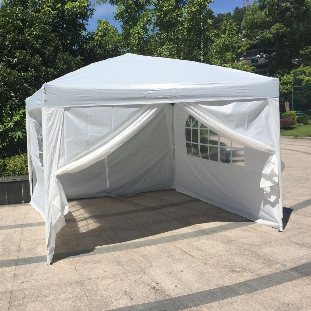 Shop for Kinbor 10ft x10ft Shelter Canopy Outdoor Wedding Party Tent With 4 Wall Panels White at the Competitive Price on CROV.com : tent panels - memphite.com