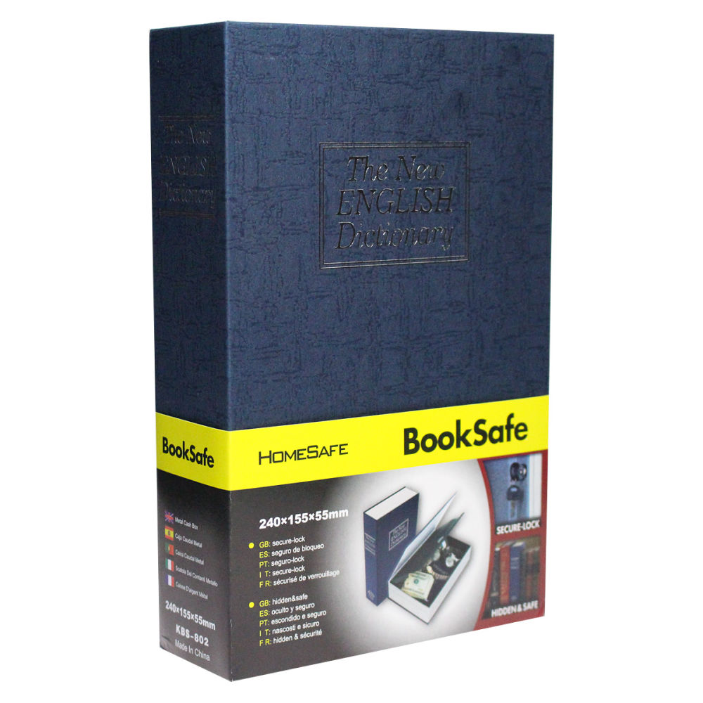 Shop for Lock Box with Key Lock, Portable Book Safe,Portable Safe