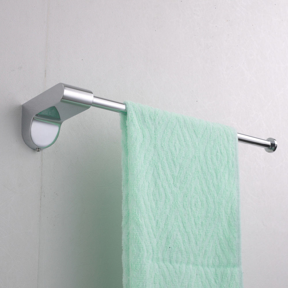 Shop for Wall Mounted Chromed Bathroom Towel Rack with single Towel ...