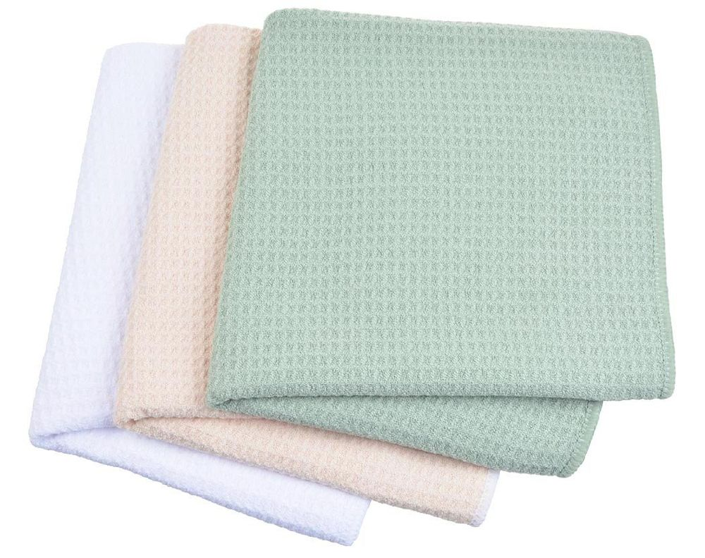Shop for Sinland Microfiber Waffle Weave Dish Drying Towels (Color ...