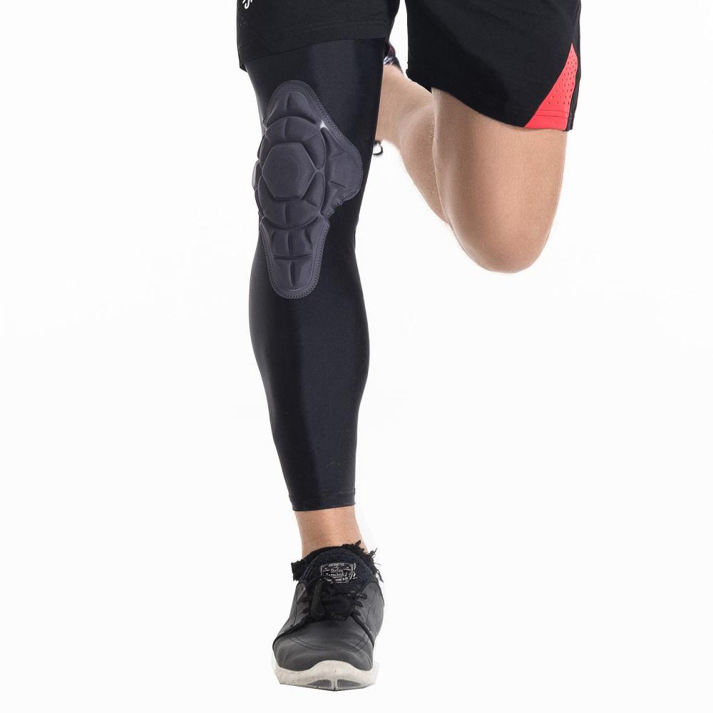 Shop For Protective Compression Knee Pads Crashproof Breathable Leg Sleeve Kneepad Softball Football Basketball Sports Protector Brace At Wholesale