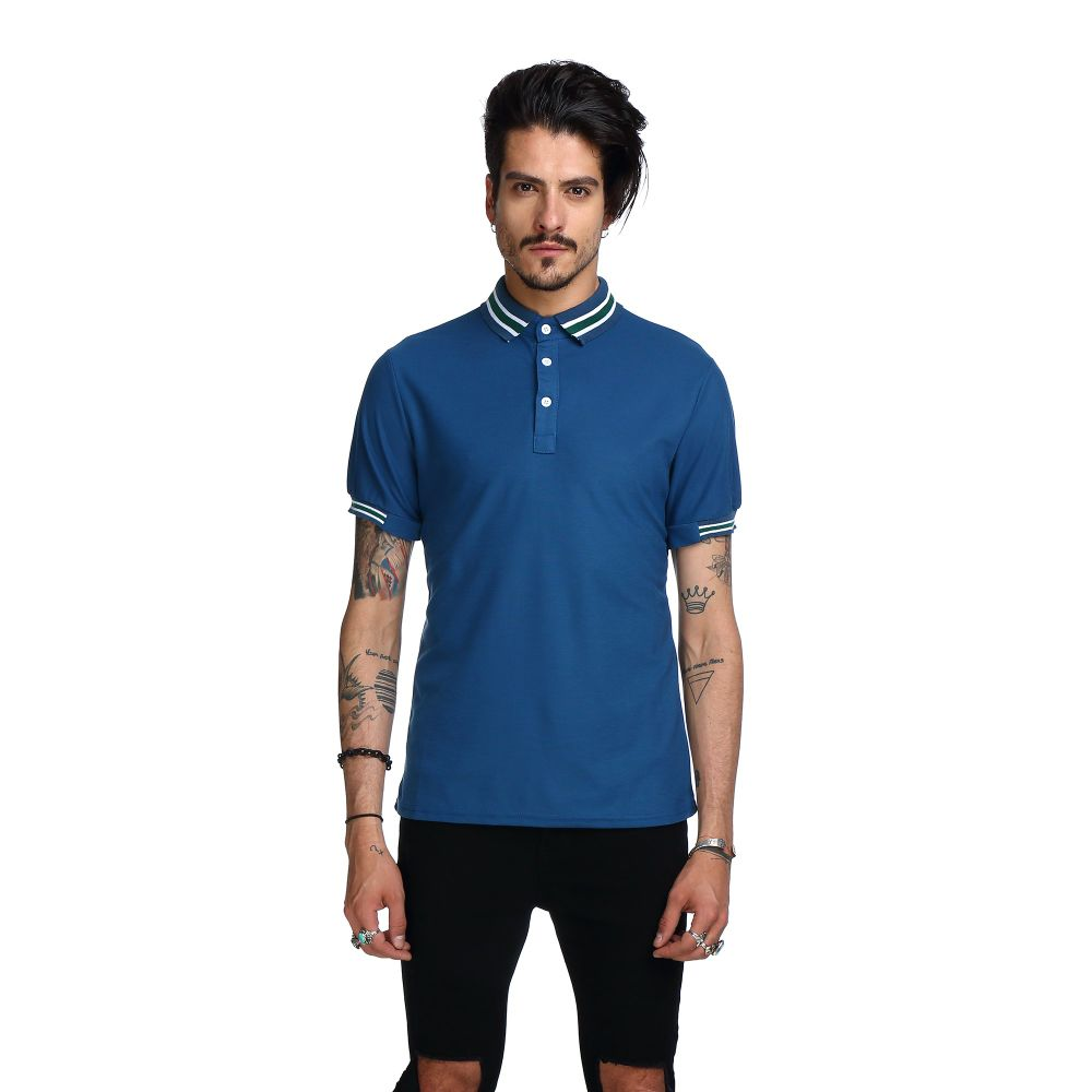 Shop For Whatlees Mens Urban Casual Basic Short Sleeve Golf Polo