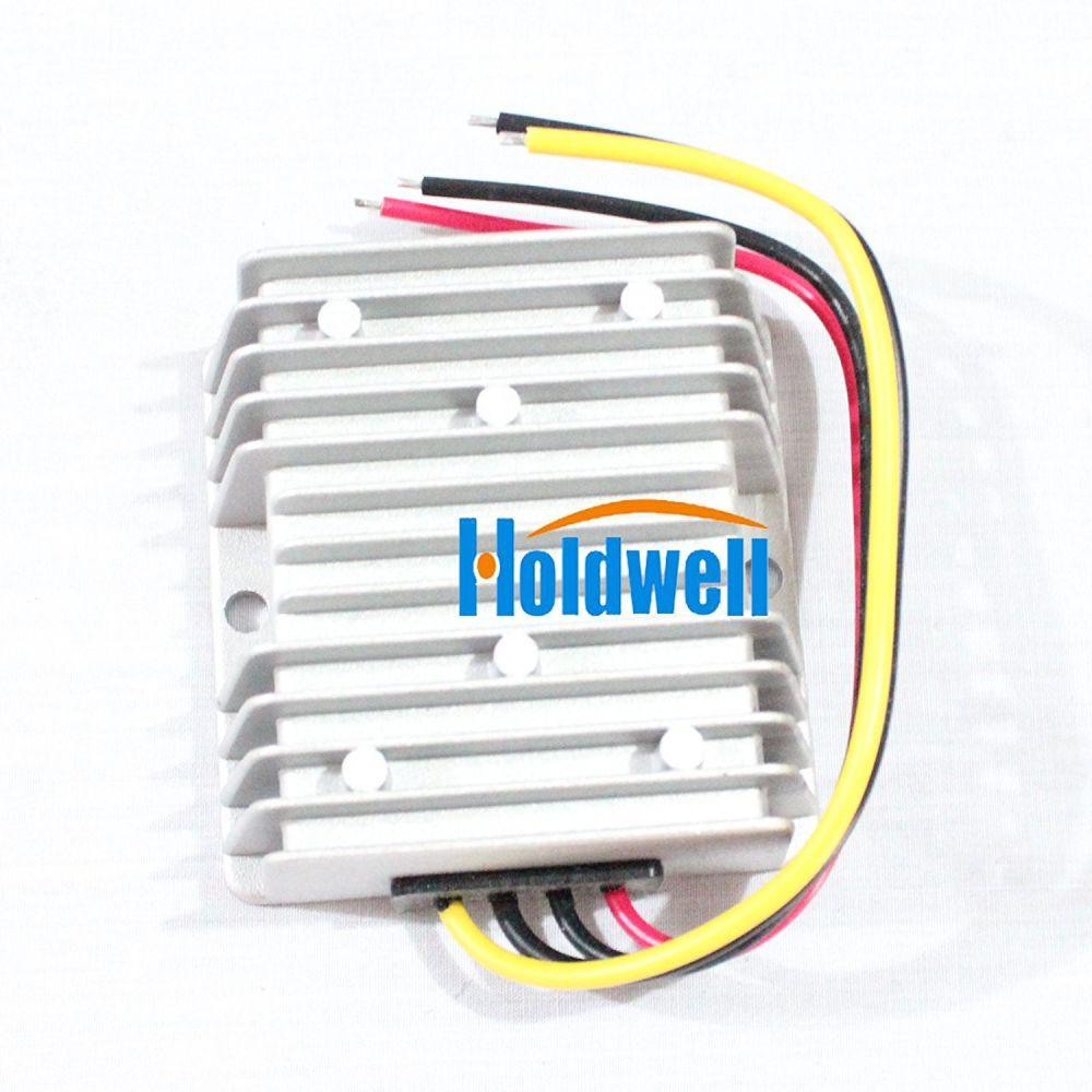 Shop For Holdwell Voltage Reducer Converter Regulator 48 Volt To 12v Golf Cart Wiring Diagram 10a Waterproof At Wholesale Price On