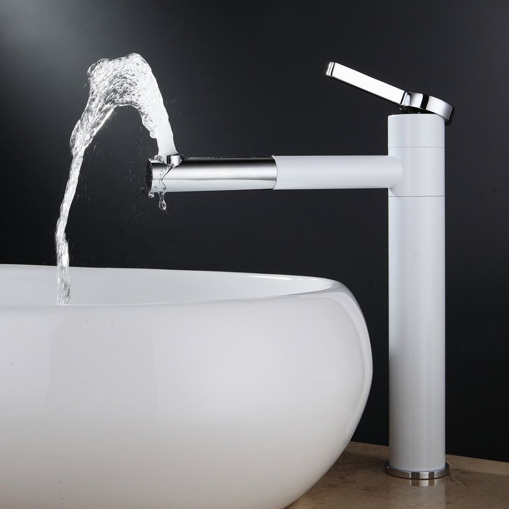 Shop for FLG Contemporary Bathroom Sink Faucet with Rotating Spout ...