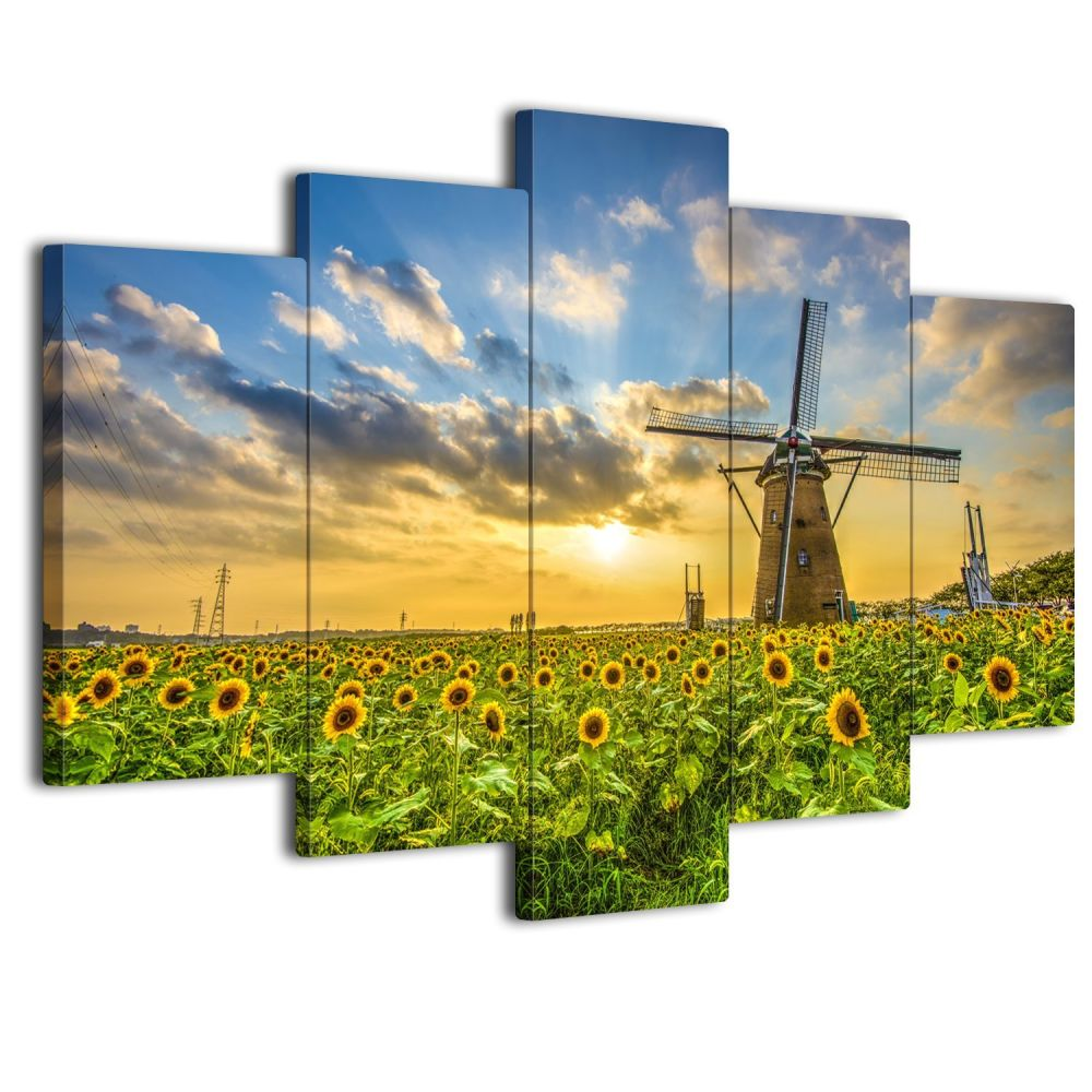 Shop for SureArt Framed Canvas Painting, Modern Wall Art, Home Deco ...