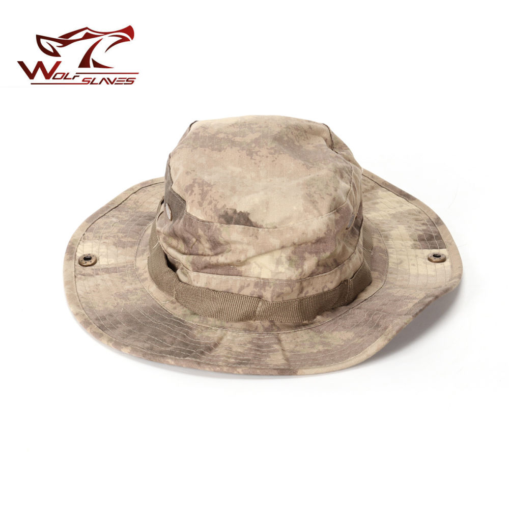 01aae304c Shop for Military Boonie Hat Airsoft Sniper Camouflage Tactical Caps ...