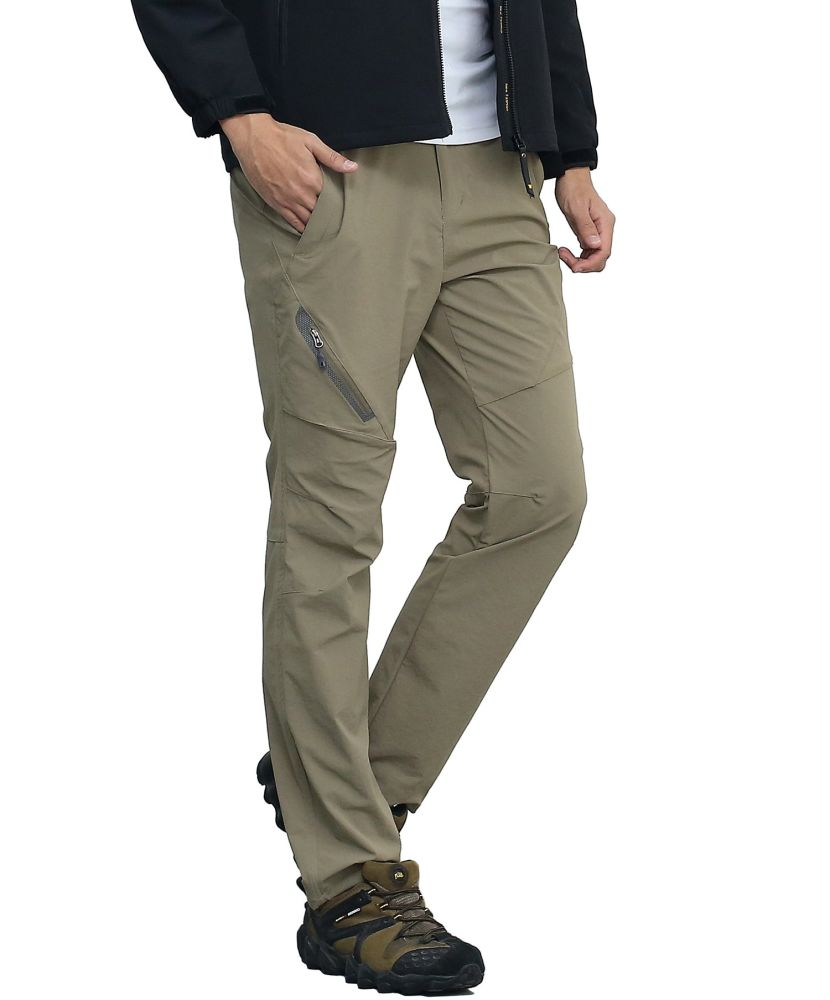 cb765a6104 Shop for SUPERBHUNT Hiking Pants Men: Moisture Wicking Trekking Pants Quick  Dry Slim Fit Lightweight Stretch Camping Pants Spring Summer Early Fall  Olive ...