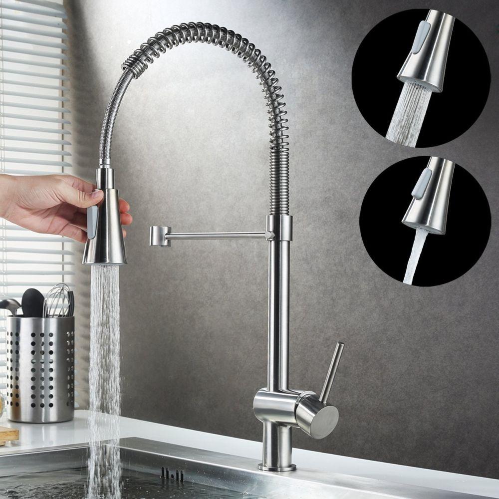 Shop for KAEN Commercial Single Handle Pull down Kitchen Sink Faucet ...
