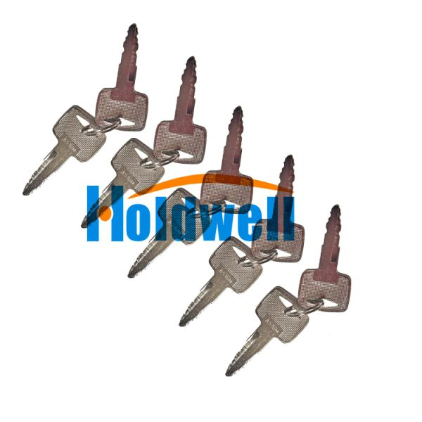 Holdwell 10PCS Ignition Key A5160 91A07-01910 Fit for Mitsubishi CAT Forklift