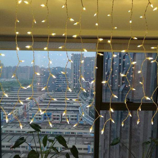 Shop For Linkable LED Curtain Lights Memory Switch 120V 8