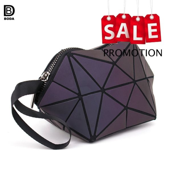 Promotion Sale Irregular Shape Travel Rhombus Cosmetic Bag For Girls 1  Piece / Bag