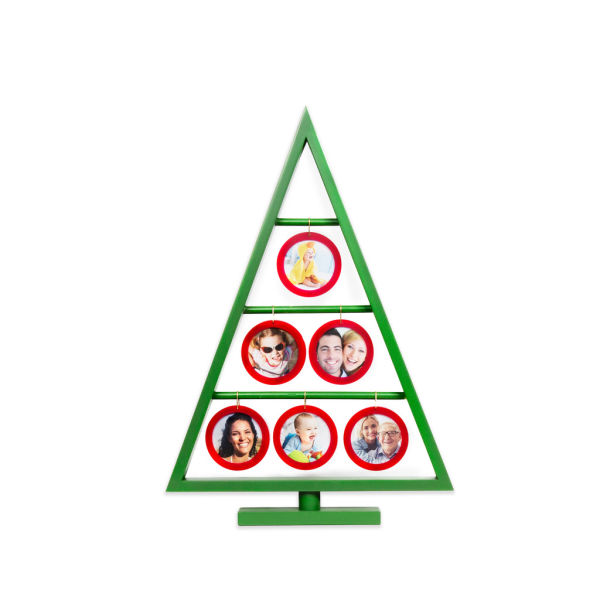Shop For Edgewood Green Painted Christmas Tree Frame Hanging Six