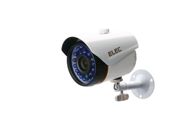 ELEC 8-Channel HD-AHD 1080P Lite Video Security System DVR and (8) 1.3MP 2000TVL Indoor/Outdoor Weatherproof Cameras with IR Night Vision LEDs- NO HDD