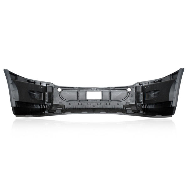 GS Front Bumper for Freightliner Cascadia Painted with Fog Light Hole