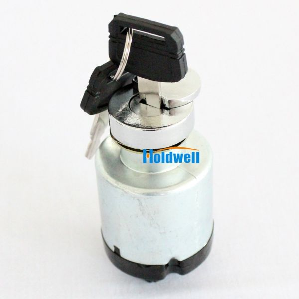 Holdwell Ignition Switch W// 2 Keys 4477373 Compatible with Hitachi EX-1 EX-2 EX-3 EX-5 EX-6 Compatible with John Deere 75C 80C 2054 450DLC