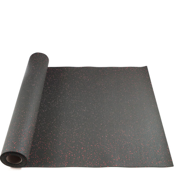 SBR and EPDM Rubber Sheet With Blue or Red Granule Sheet for Gym, Club, Home Gym and Other Sports Area 3.2'×16'×1/10""