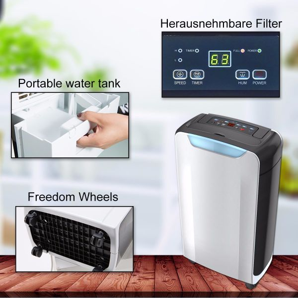 Shop For Eurgeen Compact 20 Pint Portable Dehumidifier